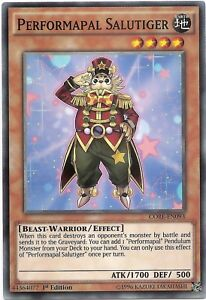 Performapal-Salutiger-CORE-EN093-Common-Yu-Gi-Oh-Card-1st-Edition-Mint-New