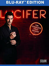 Lucifer: The Complete First Season 1 (Blu-ray Disc, 2016, 3-Disc Set)