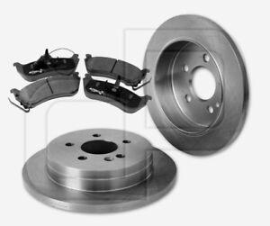 2-Bremsscheiben-und-4-Bremsbelaege-MERCEDES-MKlasse-W163-bis-Fgst-hinten-285-mm