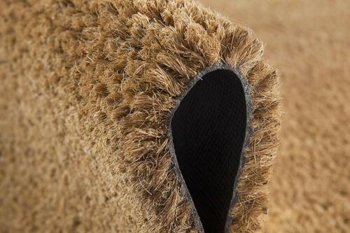 Zerbino cocco naturale varie misure antiscivolo tappeto esterno raschia fango