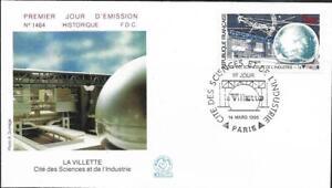 2409+ FDC ENVELOPPE  1er JOUR    CITE DES SCIENCES ET DE L' INDUSTRIE
