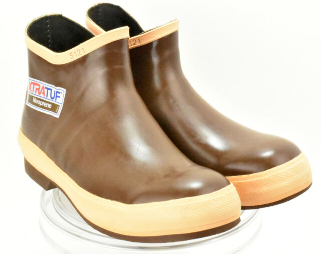 XTRATUF Legacy Series 6 Neoprene Low Cut Mens Fishing Shoes Copper 22170G
