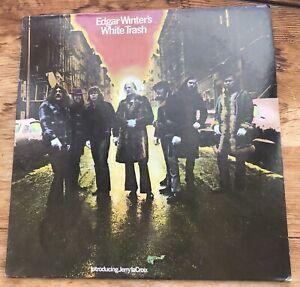 """EDGAR WINTER """"WHITE TRASH"""" VINYL LP 1971 E 30512"""