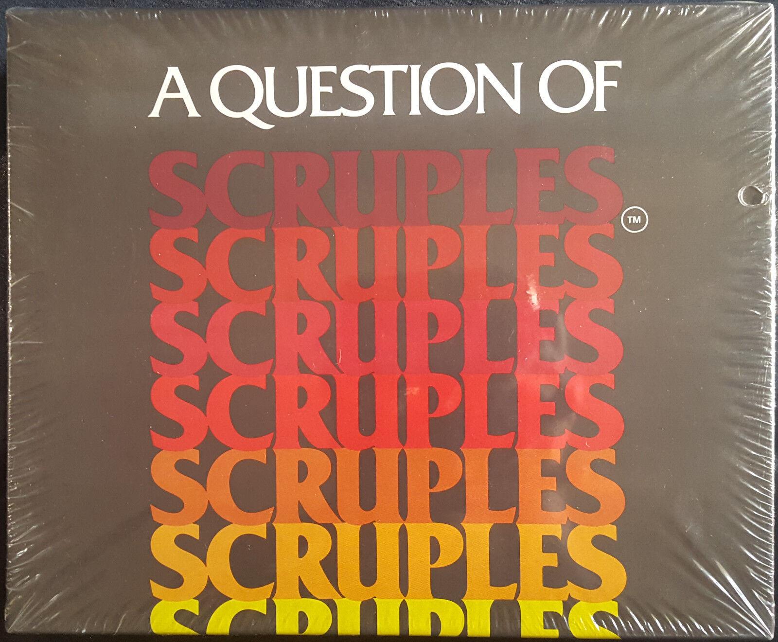 Eine frage der skrupel vintage - spiel moralische dilemmata von 1984 neue   versiegelt