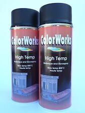 (20,63€/L) 2x 400 ml MOTIP® DUPLI Auspufflack schwarz Thermolack hitzefest 800°C