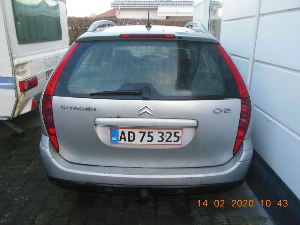 Citroën C5, 2,0 HDi 16V Advance Weekend, Diesel