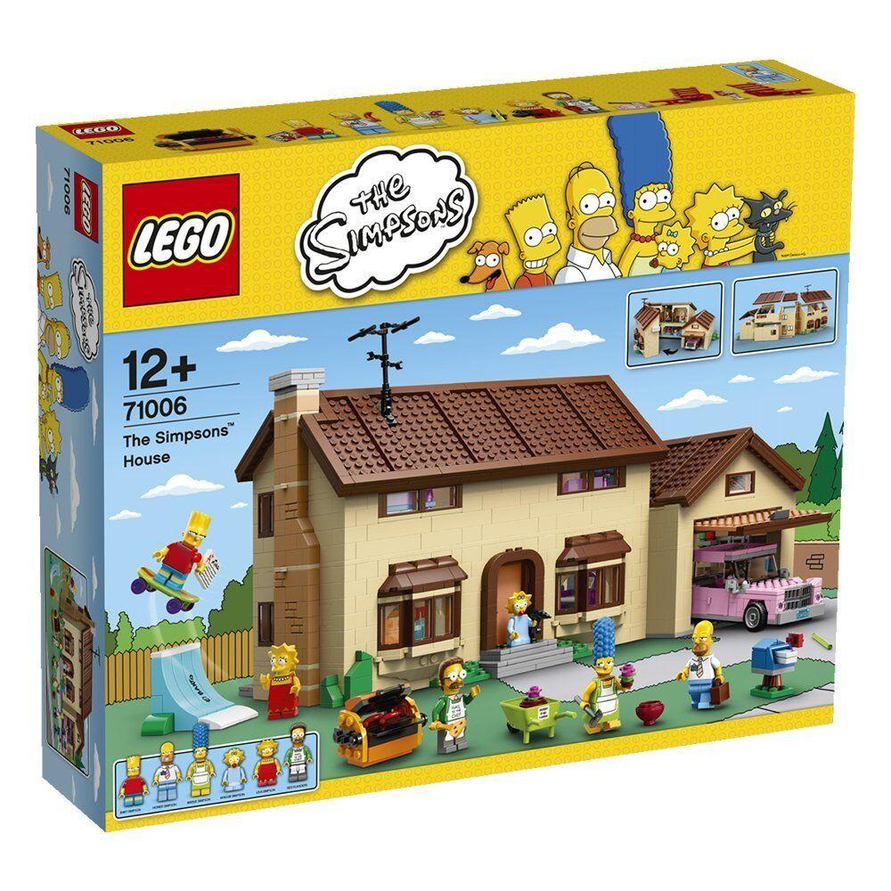 LEGO ® 71006 Simpsons la maison the house NEUF ET Neuf dans sa boîte NEW SEALED
