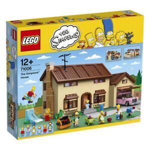 Lego ® 71006 Simpsons La Maison La Maison Nouveau et Ovp Nouveau Scellé