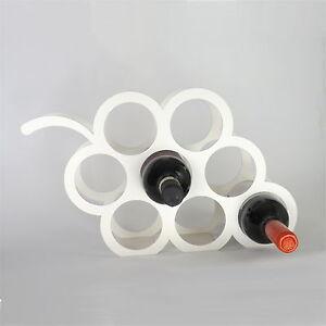 Disenador-de-uva-Botellero-de-marfil-con-capacidad-de-8-botellas-por-la-casa-de-Metal
