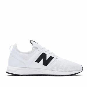 Size 10 - New Balance 247 Classic White Black for sale online | eBay