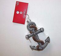 Christmas Ornament Sailor Boat Anchor