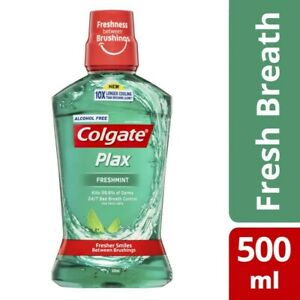 Colgate Plax Fresh Mint Mouthwash 500mL