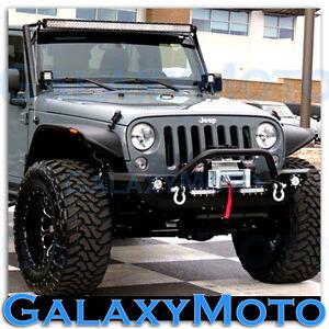 07 15 jeep jk wrangler 50 034 led light bar combo 3 034 x3 034 led. Black Bedroom Furniture Sets. Home Design Ideas