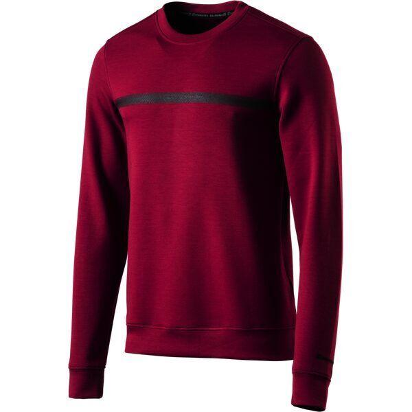 Energetics Herren Fitness Swearshirt Caleb  280601-901 dunkelrot Gr. M-XXL NEU