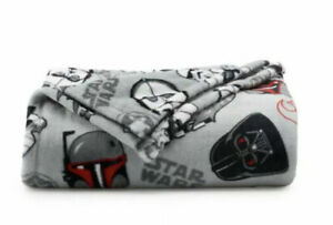Disney STAR WARS Holiday THROW 60x72 The Big One CHARACTER ...