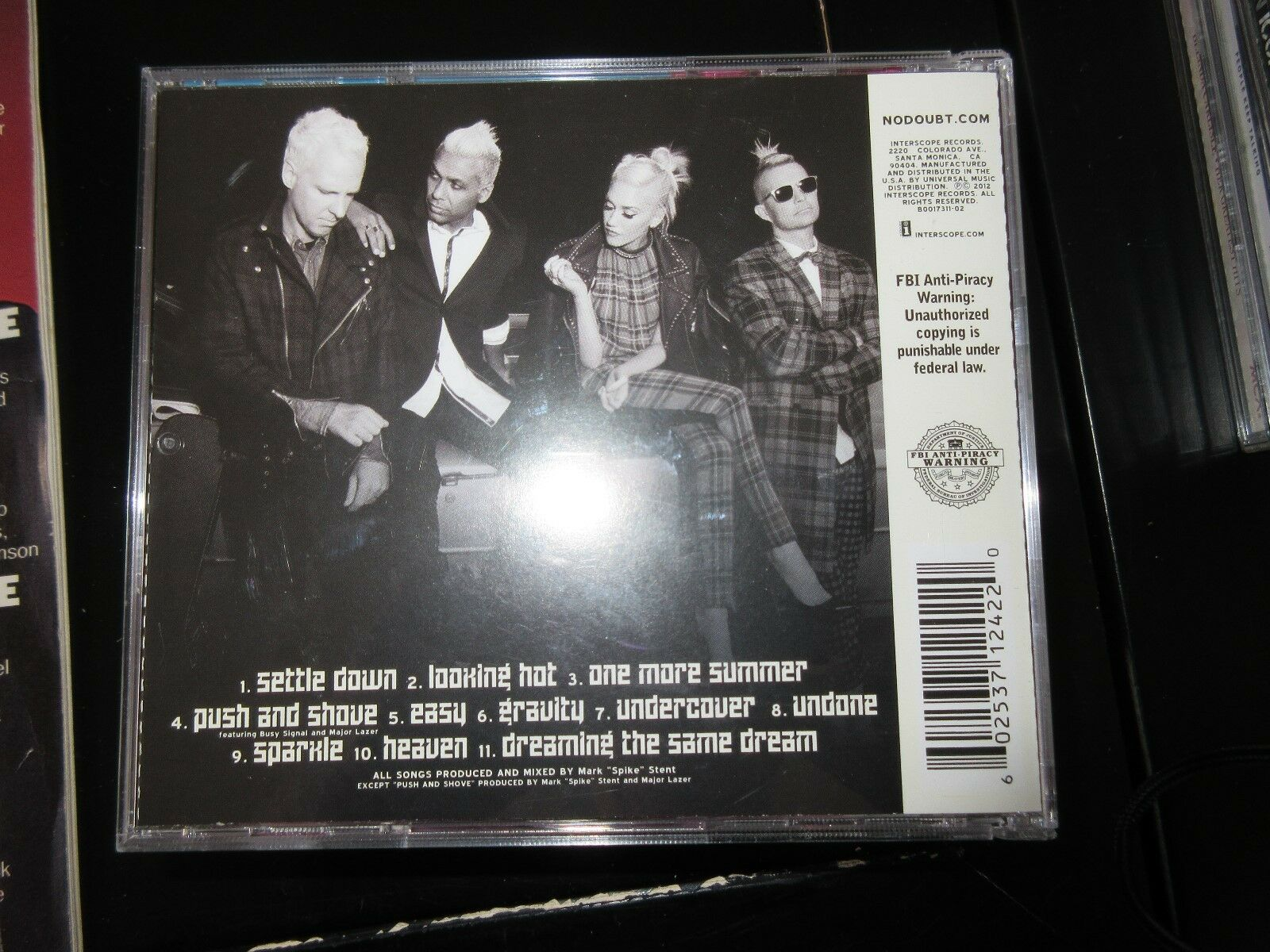 No Doubt , Push and Shove , CD