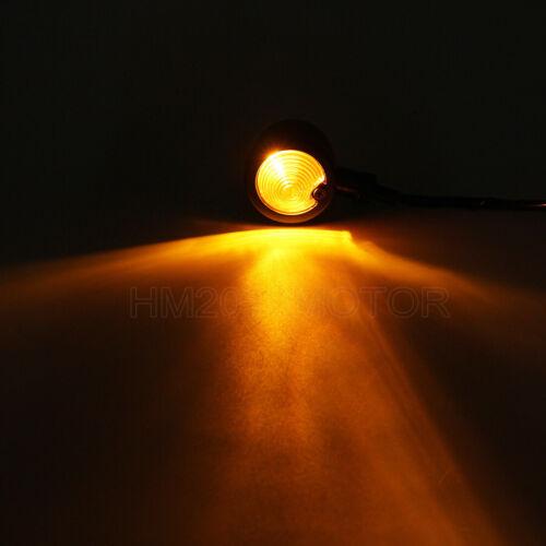 Retro Bullet Turn Signals Light Fit Yamaha Virago XV 250 535 750 920 1000 1100