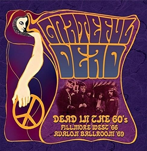 GRATEFUL DEAD - DEAD IN THE 60'S  3 CD NEW!