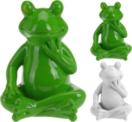 Wohnungsdeko Dekofigur Dekoration Froschfigur 2 Farben Sitzender Frosch Garten