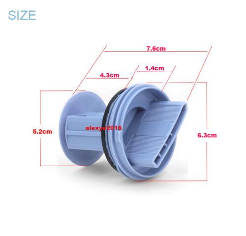Siemens Bosch Washing Machine Washer Drainage Pump Drain Outlet Seal Cover Plug