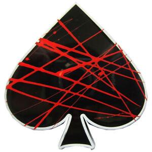 Ace Of Spades Iv Boucle De Ceinture Poker Gambler Joueur Pique As Carte Casino De La Chance