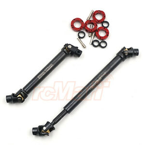 Xtra Speed Steel High Tolerance Driveshaft For Traxxas TRX-4 2pcs RC #XS-TX28064