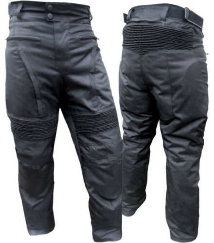 """NEW COUGAR VENTED MOTORCYCLE PANTS WITH REMOVABLE LINER CE ARMOUR 46/"""" W SAVE $$"""