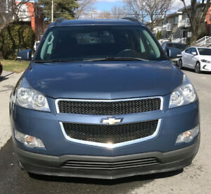 2012 Chevrolet Traverse LT, AWD, ensemble de remorquage
