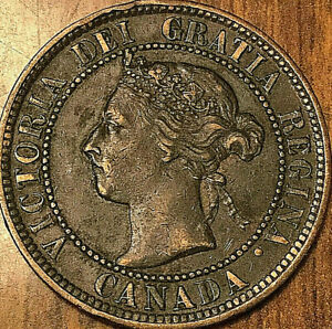 1901 CANADA LARGE 1 CENT COIN PENNY G BUY 1 OR MORE ITS FREE SHIPPING!