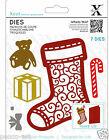 Xcut Cutting Dies - Christmas Filigree Stocking 7pcs