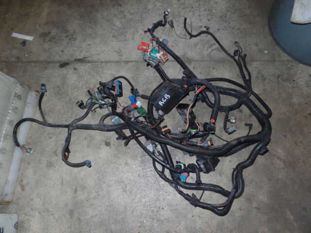 1993 Corvette C4 Engine Wiring Harness Automatic C68 A/c GM 12154084 for  sale online   eBayeBay