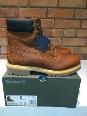 TIMBERLAND 45TH ANNIVERSARY 6 INCH WATERPROOF BOOTS MEDIUM BROWN STYLE A1R18H40   eBay