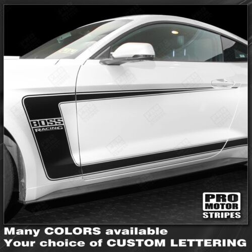Choose Color Ford Mustang 2015-2019 BOSS 302 Style Side C-Stripes Decals