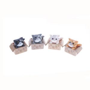 Mini-Cat-Pet-Statue-Garden-Ornament-Miniature-Figurine-Resin-Fairy-Popular-SP