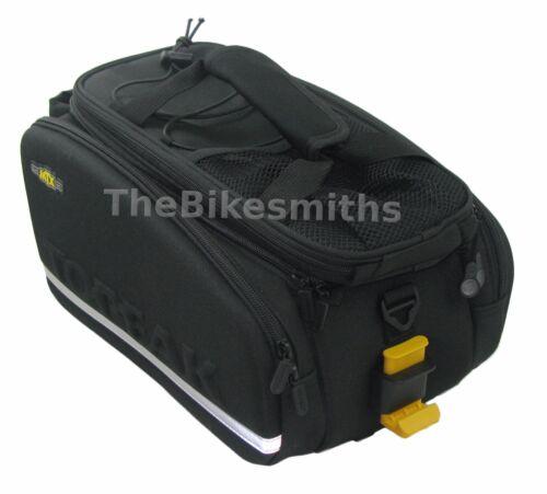 Topeak TT9648B MTX DX Rigid Trunk Rack Bike Bag QuickTrack System 750ci