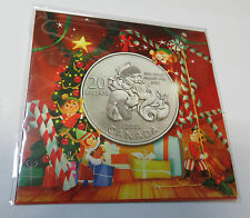 CANADA KANADA 20 DOLLARS 2013 WEIHNACHTEN CHRISTMAS SANTA CLAUS SILBER BLISTER