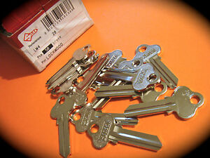 SILCA LW4 Keyblanks-Box Of Fifty- Lockwood ,Key Blank-C4-House Keys-Free Post
