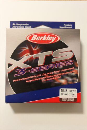 Brown 300YDS 6LB Berkley XTS 3 Series Fishing Line