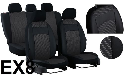 KIA SPORTAGE MK4 2016-2020 ARTIFICIAL LEATHER /& FABRIC TAILORED SEAT COVERS