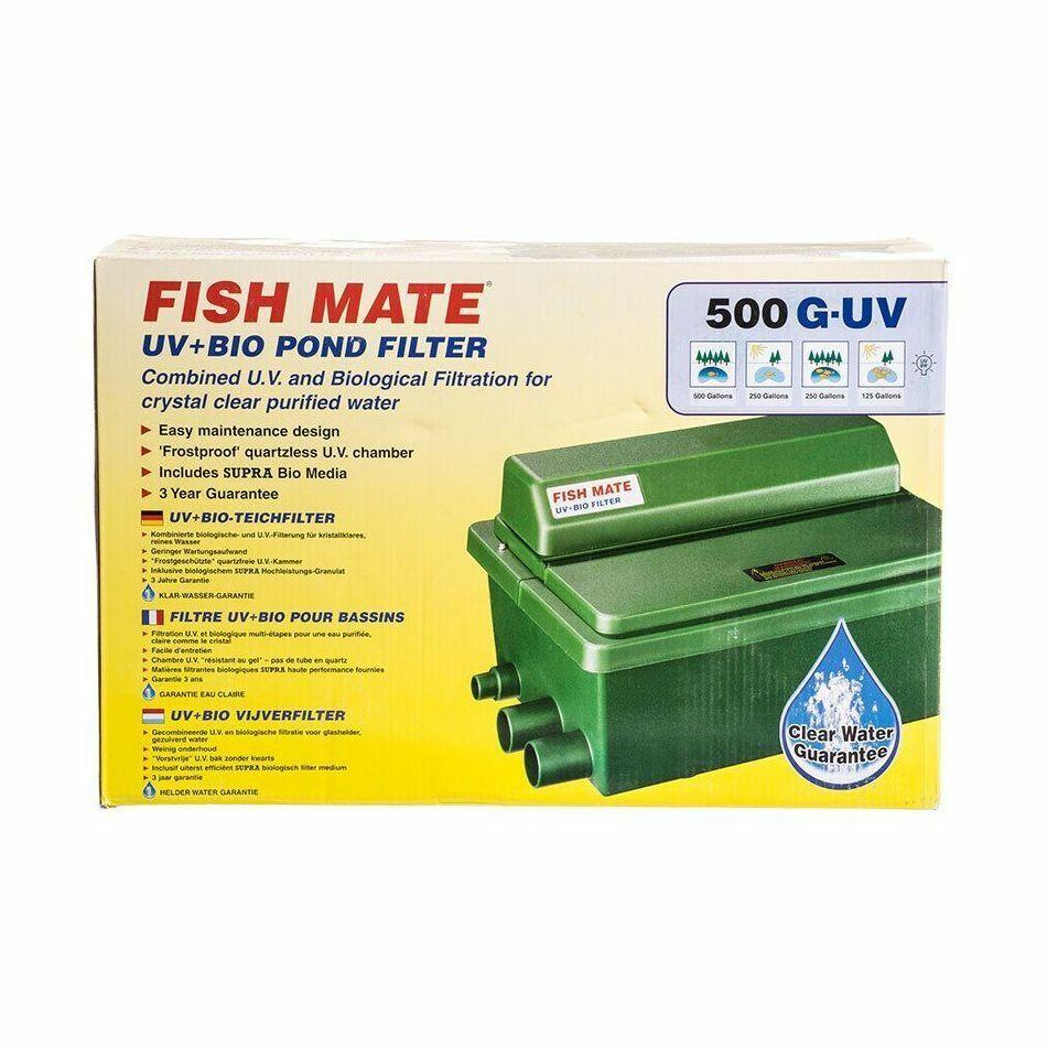Fish Mate Gravity UV & Bio Pond Filter