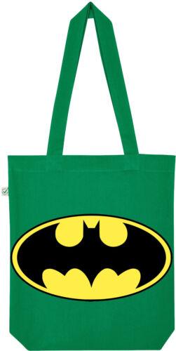 TRVPPY Jutebeutel Beutel Einkaufstasche Modell Batman Gelb