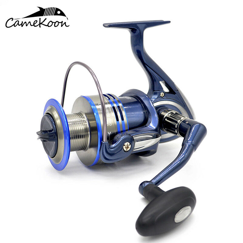 CAMEKOON Saltwater Spinning Fishing Reel Smooth  & Super Power Large Fishing Reel  on sale