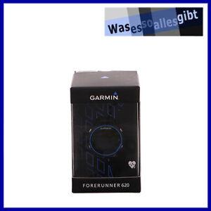 SCHNAPPCHEN-Garmin-Forerunner-620-HR-Laufuhr-schwarz-blau-U-3718