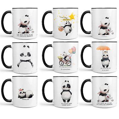 Kaffeetasse Tasse Teetasse Mops und mir pug Der Hund war allergisch schwarz ...