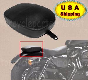 For Harley Sportster XL1200 883 72 48 2010-2015 Rear Passenger Pillion Pad Seat