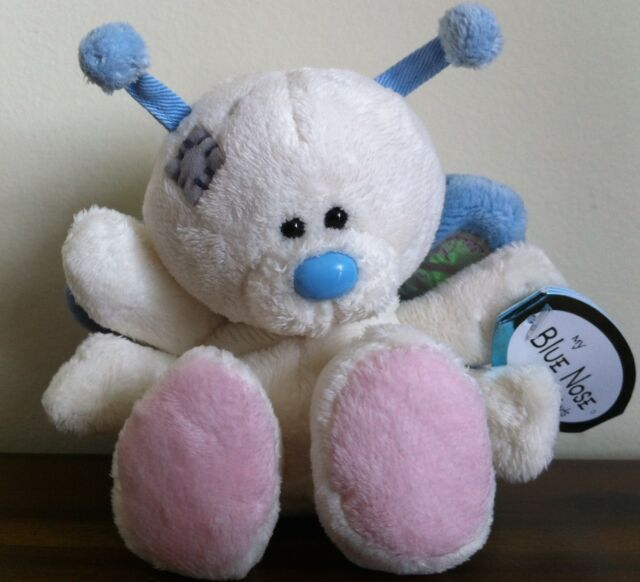 Me To You My Blue Nose Friends 'Breeze' Butterfly Soft Plush Toy Ltd Edition 4""