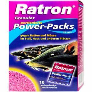 Frunol Delicia  Ratron® Granulat Power-Packs 10 x 40 g Wanderratte Hausmäuse