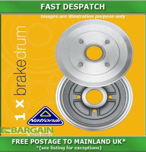 1 X REAR BRAKE DRUM FOR PEUGEOT 206 2.0 12//1999-08//2002 4296