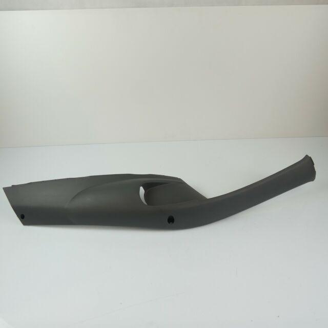 Seitenverkleidung hinten schwarz metallic Piaggio ZIP 2000