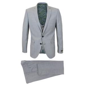Wool-Blend Dark Blue Turtle Neck Sweater RRP £70-53889//285 Size L Remus Uomo